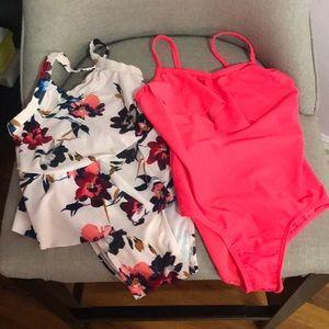 2 Old Navy girls swim suits
